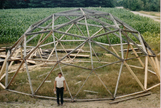 38 foot Geodesic Dome